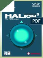 HALion 3 Manual