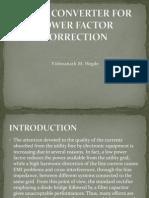 AC/DC CONVERTER FOR POWER FACTOR CORRECTION