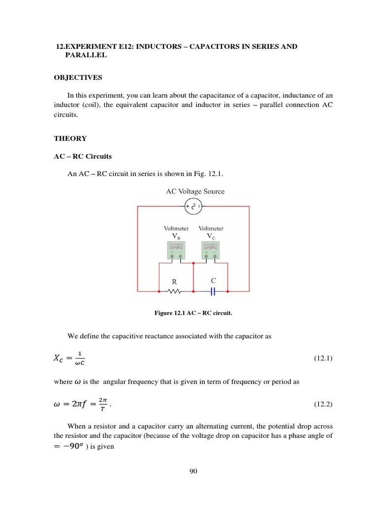 Indutors And Capacitors In Series Parallel What Are Circuits Inductor