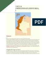 Resumen de La Afrocolombianidad
