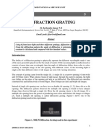 Diffractin Grating