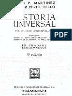 Martinez Jesus - Historia Universal en Esquemas 4 - Edad Contemporanea 1