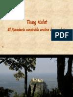 Mosteiro Taung Kalat Em Myanmar
