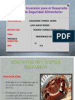Rebobinado de Motor Trifasico