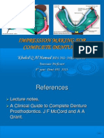 Prostho IV - Slide 3 - Impression_Making_for_Complete_Dentures