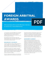 DLA Piper Germany Enforcing Foreign Arbitral Awards