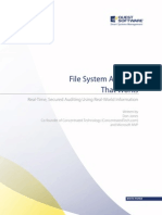 File System Auditing That Works