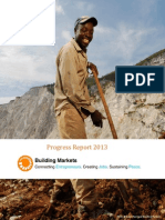 Building Markets 2013 Progress Report