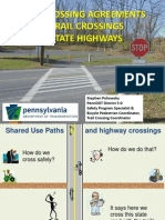 """Trail Crossing Agreements & Trail Crossings of State Highways"""