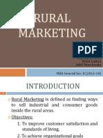 Final - Rural Marketing