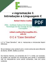 Aula 1 - Programação I - Introdução a Linguagem C