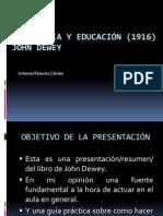 Democracia y Educacion (1)