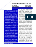 Oct. 2013 - NYC Securities Industry Report