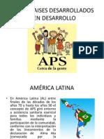 Aps en Paises Desarrollados y en Desarrollo