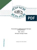 Partner 2 Report