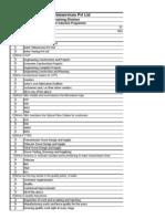 Nomenclature for Tower Func& Erection