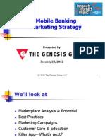 Genesis Mobile Banking Marketing Strategy 01 2012