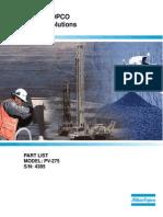 Manual de Partes PV275