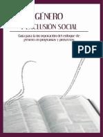Género y Exclusión Social.- Guía para la incorporación del enfoque de género en programas y proyectos.