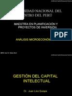 Gestión del capital intelectual- Maestría