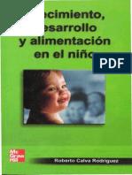 Crecimiento, desarrollo y alimentacion en el niño
