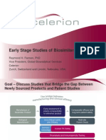 Biosimilars Drug Development World 2012 Early Stage Studies of Biosimilars