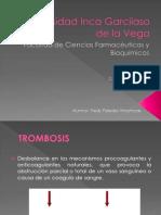 TROMBOSIS DIAPOS