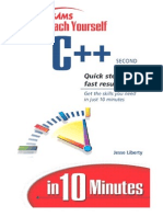 Teach Yourself c in 10 Minutes Second Edition