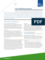 Fundamental Sources of Retirement Income