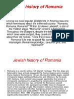 Jewish History Od Romania