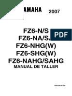 Manual Taller Yamaha FZ6