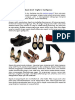 Model Sepatu Cewek Yang Keren Buat Ngampus