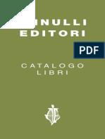 Catalogo Annulli Editori