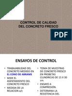 Control de Calidad Del Concreto e.n.d y Prueba Carga