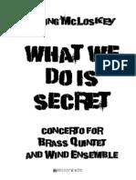 WhatWeDoIsSecret Score
