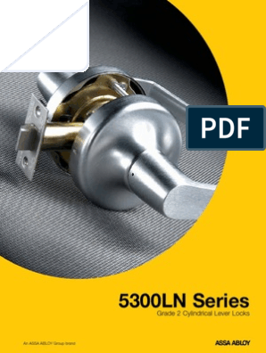 Brass//Steel//Zinc//Stainless Steel 626 Yale Security AU 5305LN 1210 626 2-3//4 Backset Satin Chrome Grade 2 Storeroom