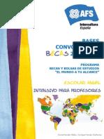 AFS Intercultura Bases Becas 2012 2013