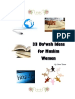 33 Dawah Ideas for Muslim Women