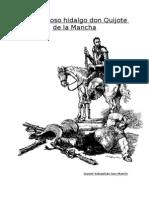 El Ingenioso Hidaldo Don Qijote de La Mancha