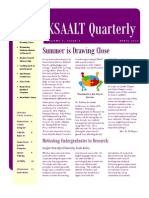KSAALT Quarterly. Volume 5, Issue 3