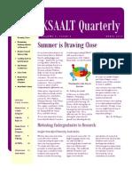 KSAALT Quarterly. Volume 5, Issue 3