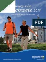 Mecklenburgische Schweiz Reiseführer, empfohlen von Reiseführer-Buchhandlung Reise.BuchOn