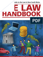 Law Handbook Example