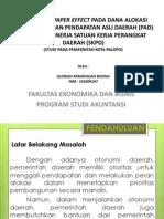 Analisis Flypaper Effect Pada Dana Alokasi Umum (