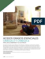 Ácidos grasos esenciales. Omega-3 y Omega-6