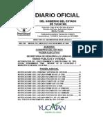 Diario Oficial Act Tarifas de Agua Smapap 2004-11-10