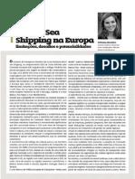 O Short Sea Shipping na Europa, limitações, desafios e potencialidades
