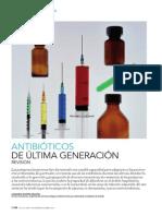 Antibióticos de última generación. Revisión