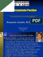 Analisis Conductual Aplicado - Reforzamiento Positivo