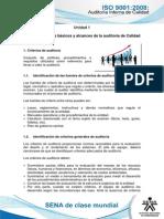 Tema 4. Aspectos Basicos y Alcances de La Auditoria de Calidad